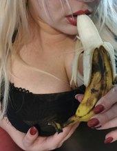 Banán a melouny