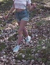Anal v lese