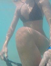 Plávanie na dovolenke