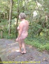 Nude in public in & outdoor