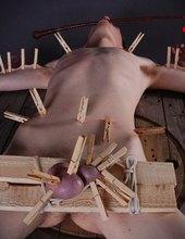otrok při cvičení