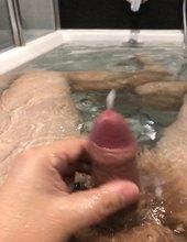 Masturbace ve vaně
