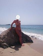 Provokace na pláži