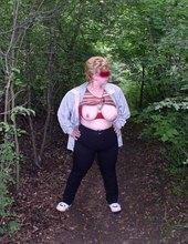 prsa v přírodě