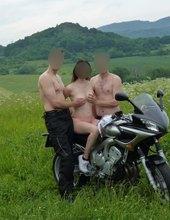 Opuštěná motorka