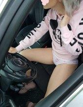 Sexy řidička
