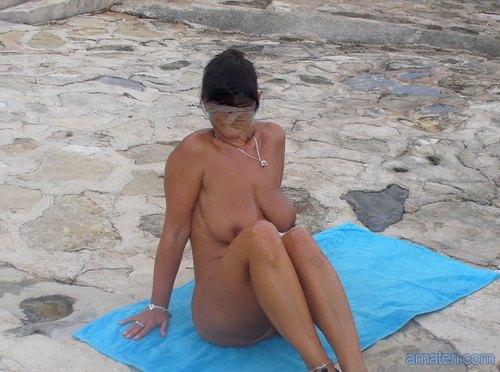 зрелые порно на пляже