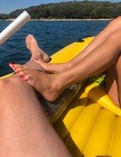 Footik na loďke