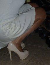 Nové béžové botičky