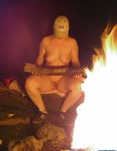 pri ohníčku - 1