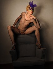 I love being an erotic model..