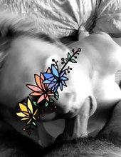 ... flowers ...