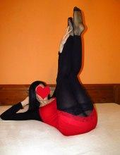 miska black/red