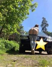 Auto a příprava zadku