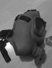 Gas mask and butt plug