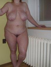 manželky stehna a záda