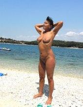Pozovanie na pláži
