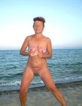 Nahotenie na pláži