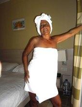 Biely ručník