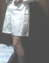 In dress from highschool