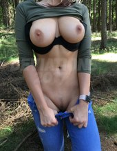 V lese na jehlici
