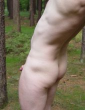 V lese na jehličí :-)