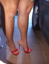 Ráda nosím v létě pantoflicky