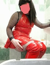 Lady in red?