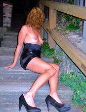nočné schodisko
