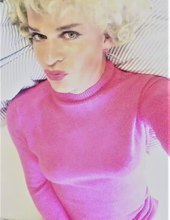 Pink Sweater Trans Girl