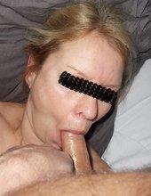 Wife blowjob I