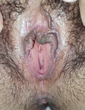 My girl pussy  open wide