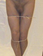 bound in pantyhose 01