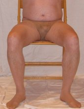 presentation in pantyhose