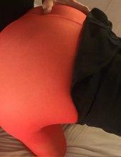 Červené Sexy Nylonky