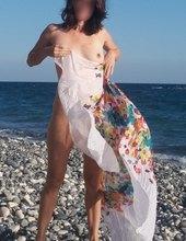 Na Kypru na pláži