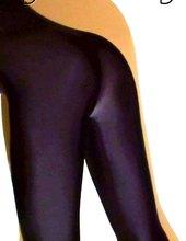 black lycra catsuit