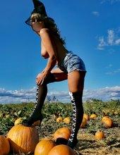 Halloween-na tekvicovom poli🙂