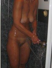 Podglądana w łazience