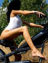 She´s The Biker...