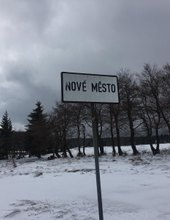 Poslední sníh na Novém městě