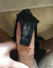 Černé tanga