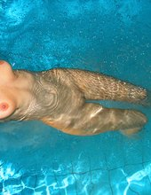 Tits at the pool