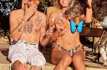 Heidi Klumová ukázala na Instagramu prsa