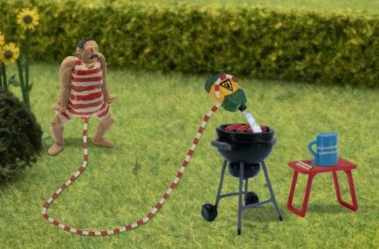 Dánská televize vysílá dětský animák, v němž je hlavní postavou muž s třímetrovým penisem