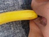 Pocurany banan..